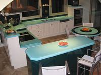 Cuisine Lave Turquoise