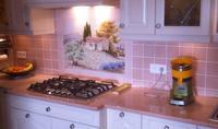Cuisine Lave Emaillée Sur Mesure Plan de cuisine Carrelage