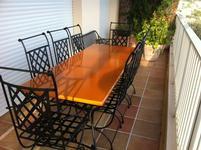 Table lave émaillée cuivre moyen